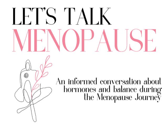 lets talk menopause
